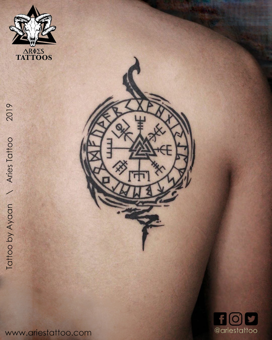 Waiking tattoo By ayaan |Aries Tattoo Noida | Tattoo Shop and Studio In Noida