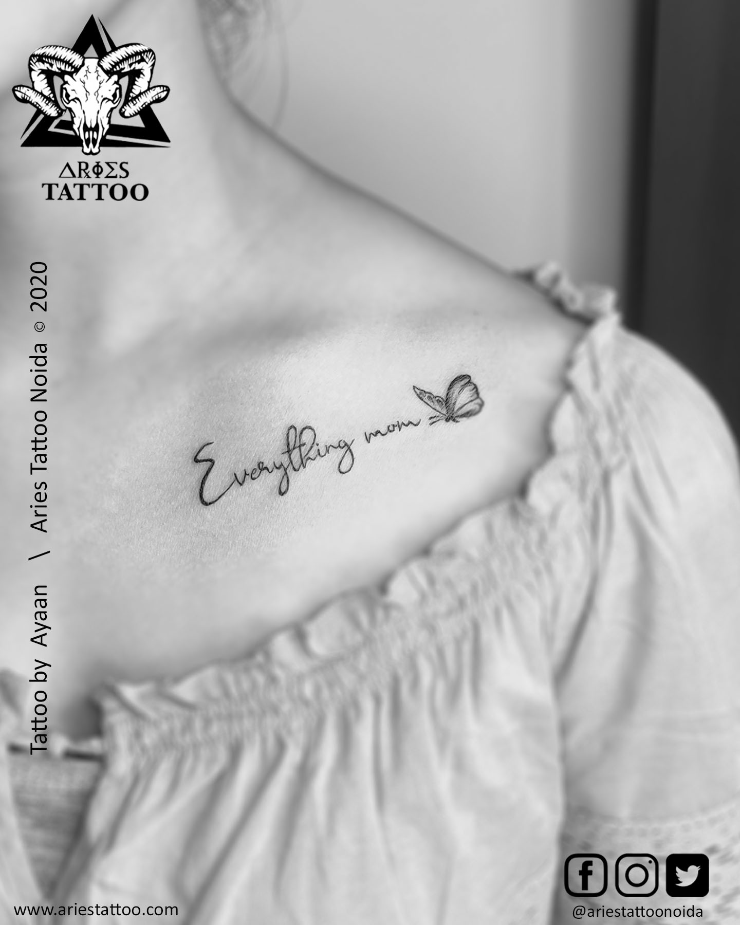 scrip ttattoo_ayaan_ariestattoonoida | |Aries Tattoo Noida | Tattoo Shop and Studio In Noida